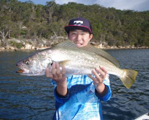 Fishing Middle Harbour - Fishabout Sydney Harbour With Craig